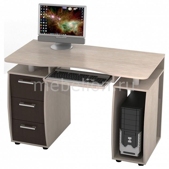 ТД Ная Стол компьютерный Дрофа КС-12М дуб беленый/венге