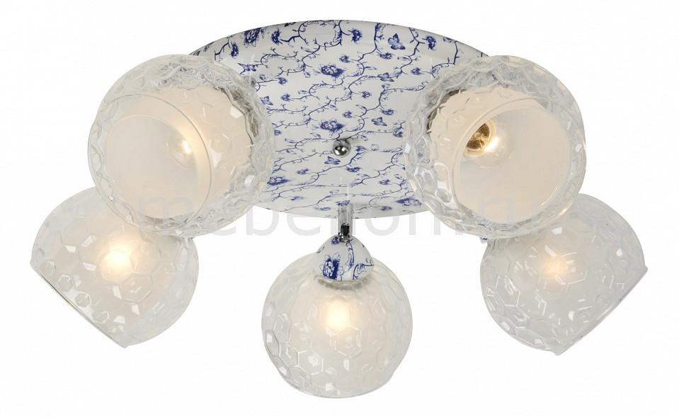 Спот IDLamp 876 876/5PF-Whiteblue потолочная люстра idlamp 876 876 5pf whiteblue