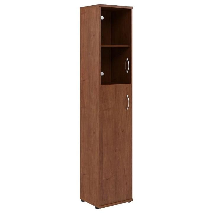 Шкаф книжный Skyland Imago СУ-1.7 Л мегаэлатон книжный шкаф верона 1 30х60х220 см 2 секции тонированное стекло красный орех g q4 8nni