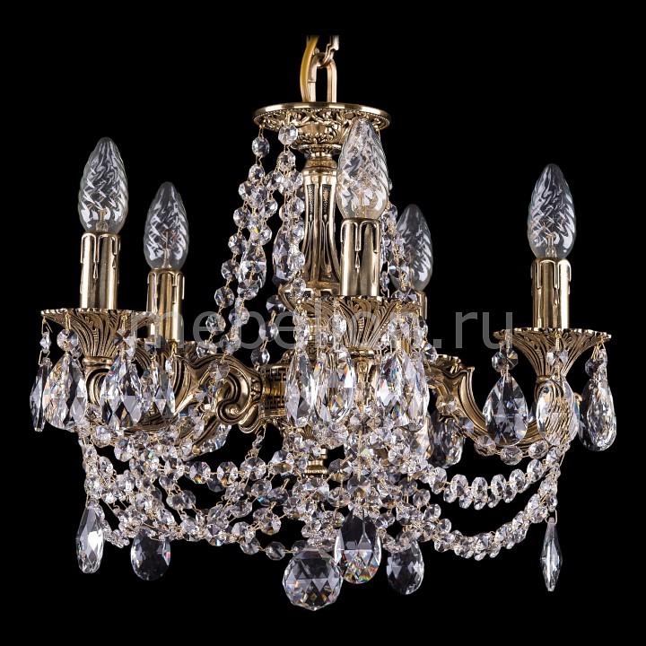 Подвесная люстра Bohemia Ivele Crystal 1707/5/125/C/GB 1707