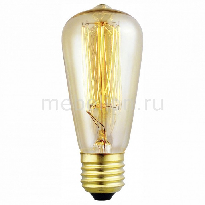 Лампа накаливания Eglo Vintage E27 60Вт 2700K 49501