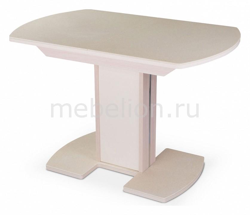 Стол обеденный Альфа ПО с камнем