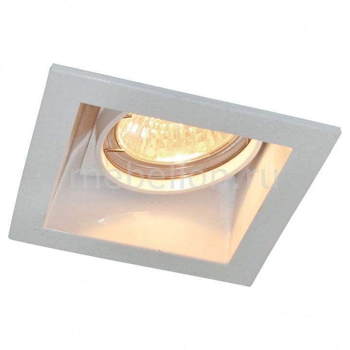 все цены на Встраиваемый светильник Arte Lamp Cryptic A8050PL-1WH онлайн