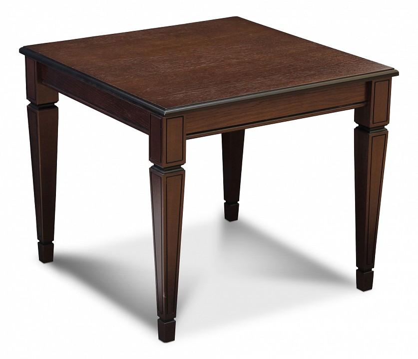 Стол журнальный Мебелик Васко В 82 шатура стол журнальный васко в 80 темно коричневый патина