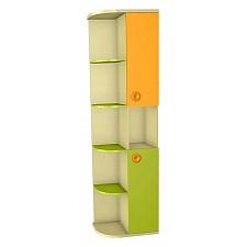 Стеллаж Любимый Дом Фруттис 503.090 желтый/лайм/манго