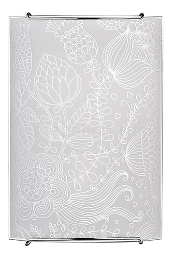 Накладной светильник Eurosvet 5608 белый 1 Blossom