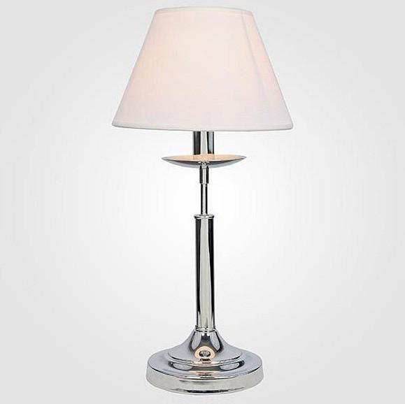 Купить Настольная лампа декоративная 01010/1 хром, Eurosvet, Китай