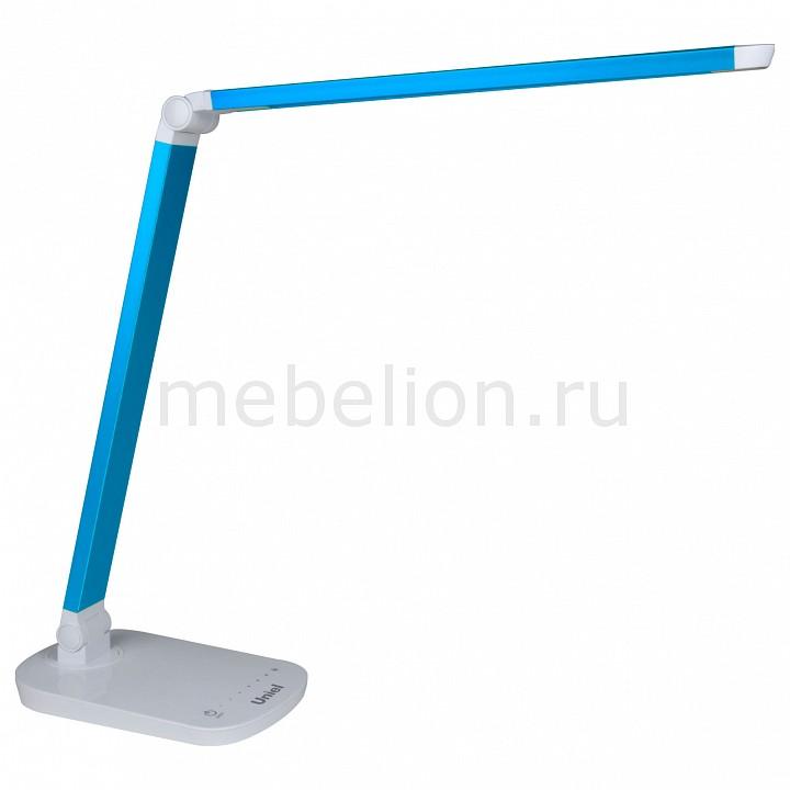 Настольная лампа офисная Uniel TLD-521 Blue/LED/800Lm/5000K/Dimmer ultrafire diving 50m waterproof 800lm 1 mode white light led flashlight yellow green 1 x 18650