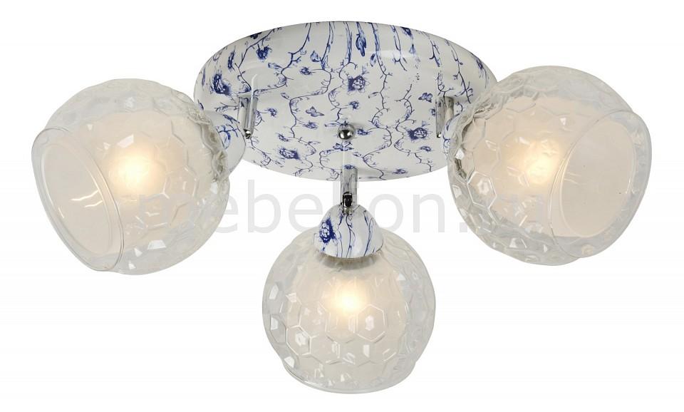 Спот IDLamp 876 876/3PF-Whiteblue потолочная люстра idlamp 876 876 5pf whiteblue