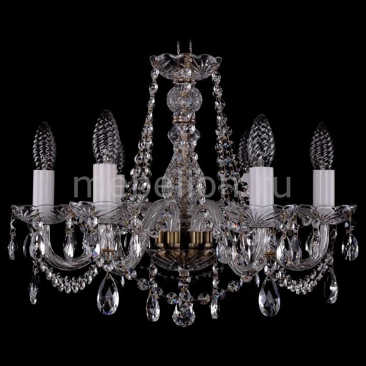 Подвесная люстра Bohemia Ivele Crystal 1402/6/160/Pa 1402