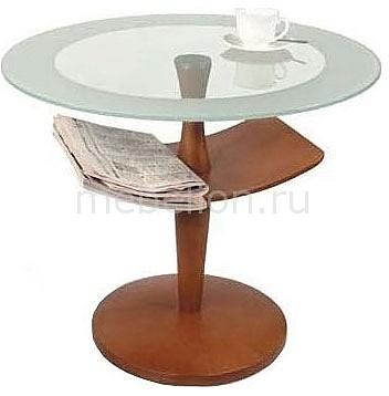 Стол журнальный Мебелик Рио 2 коричневый