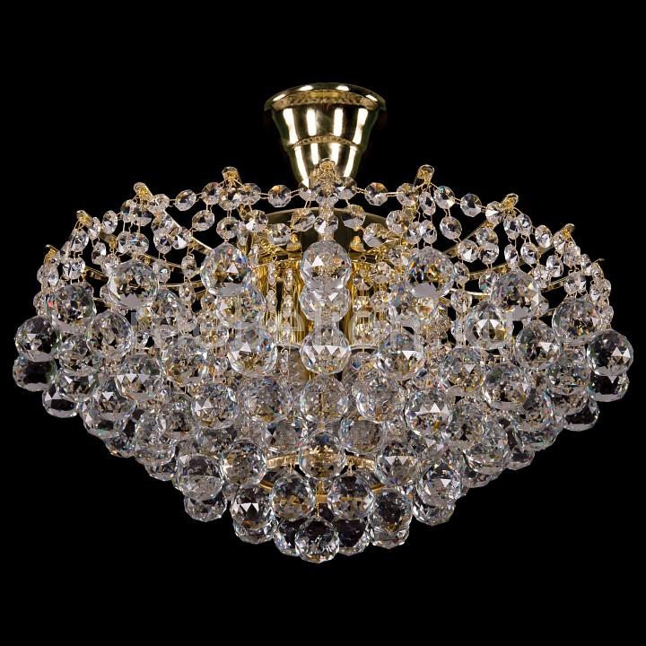 Люстра на штанге Bohemia Ivele Crystal 7331/42/G 7331