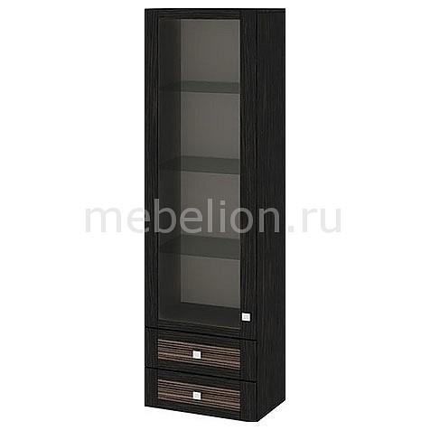 Шкаф-витрина Фиджи ШН2я(12)_32-19_18 венге цаво/каналы дуба mebelion.ru 7990.000