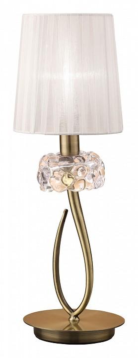 Фото - Настольная лампа декоративная Mantra Loewe 4737 настольная лампа декоративная mantra loewe 4737