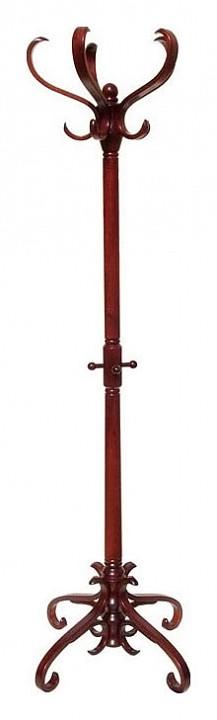 Вешалка напольная Мебелик Вешалка-стойка В-2Н махагон напольная вешалка для одежды мебелик в 2н