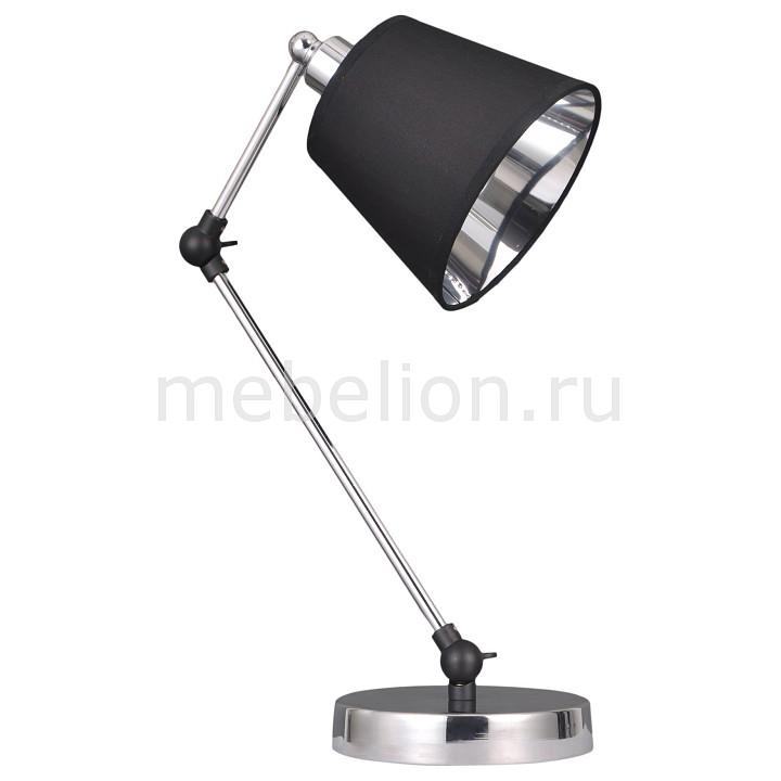 Настольная лампа офисная 01015/1 хром, Eurosvet, Китай  - Купить