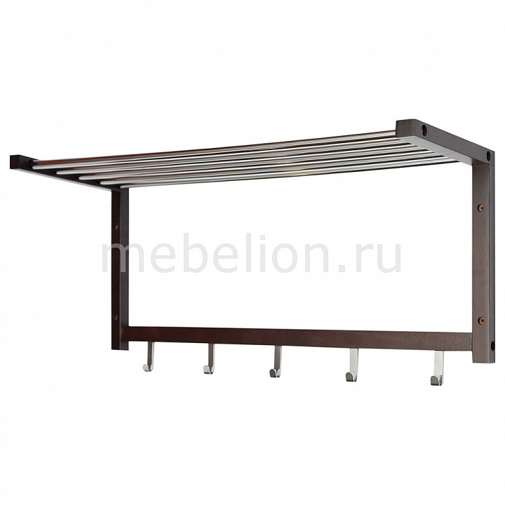 Вешалка-полка 581006  тумбочка антикварная