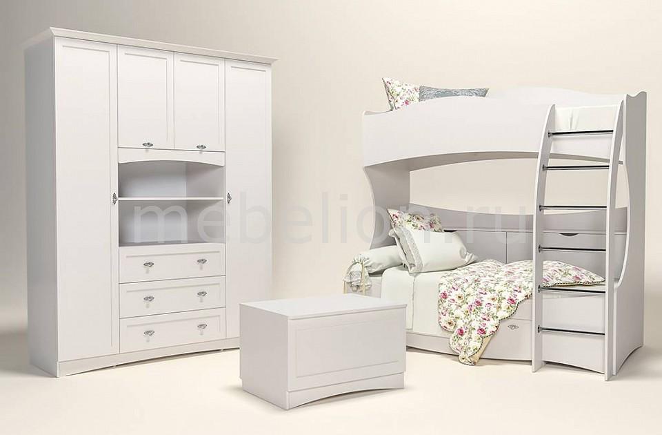 Гарнитур для детской Сильва Прованс-5 шкаф комбинированный прованс нм 009 23