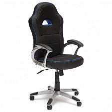 Кресло компьютерное Pilot черный_синий