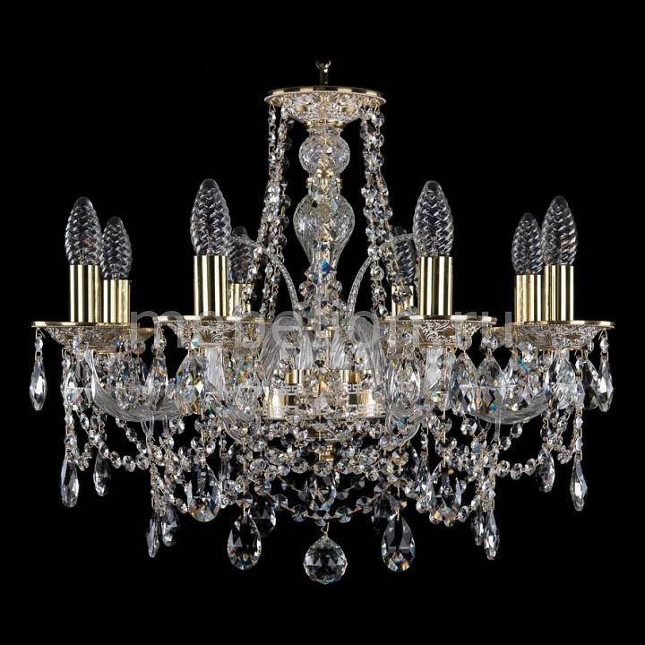 Подвесная люстра Bohemia Ivele Crystal 1611/8/195/GW 1611