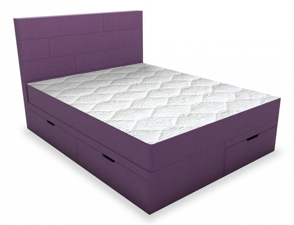 Кровать двуспальная с матрасом Домино 2000x1800