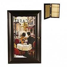Ключница (16.5х26.5 см) Парижское кафе P311-10