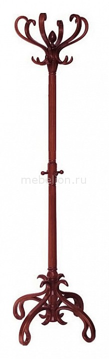 Вешалка-стойка В-4Н махагон