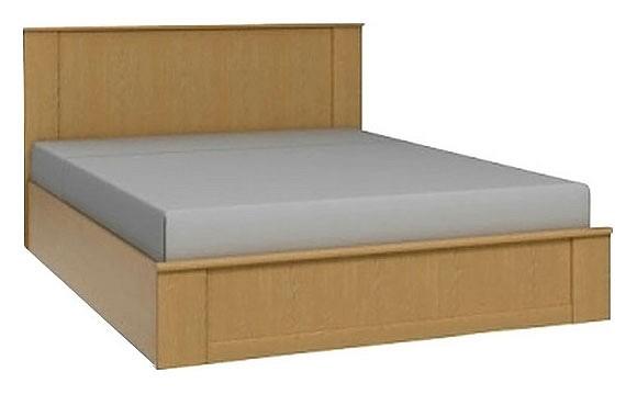 Кровать двуспальная Юлианна СТЛ.004.10 венге светлый