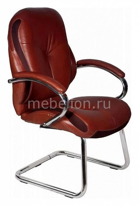 Кресло офисное T-9930AV коричневое mebelion.ru 8280.000