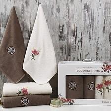 Набор полотенец для ванной Karna Набор из 4 полотенец для ванной BOUQUET HOME