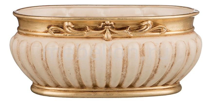 Чаша декоративная АРТИ-М (25х15х21 см) Ирис 327-047 ваза настольная арти м 20х18 см ирис 327 048