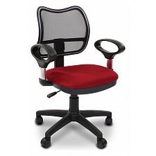 Кресло компьютерное Chairman 450 красный/черный