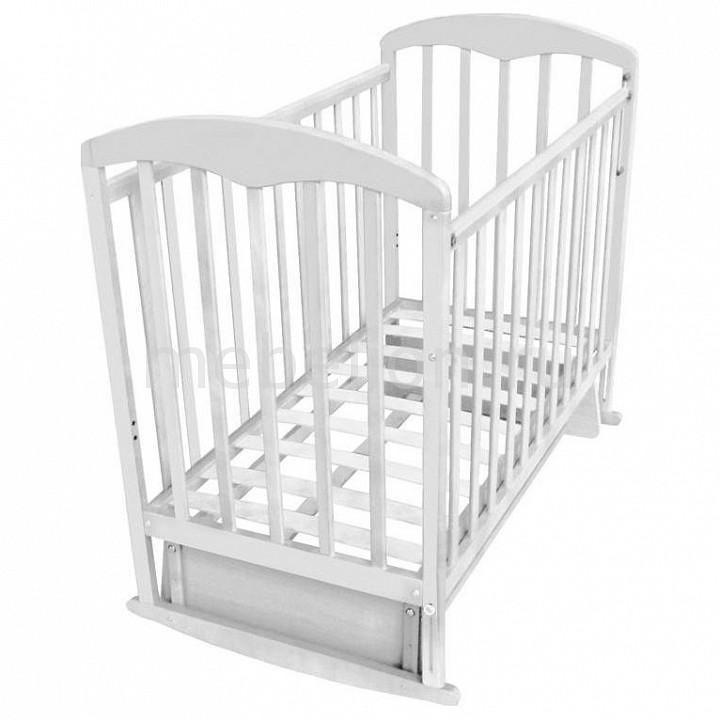 Кроватка Фея Фея 324 детская кроватка фея 600 белый лайм