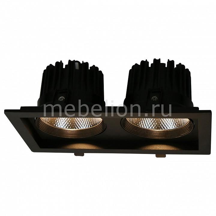 Купить Встраиваемый светильник Privato A7018PL-2BK, Arte Lamp, Италия