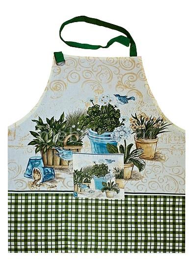 Фартук Bon Appetit Flowers скатерть bon appetit rokoko цвет зеленый 145 см x220 см