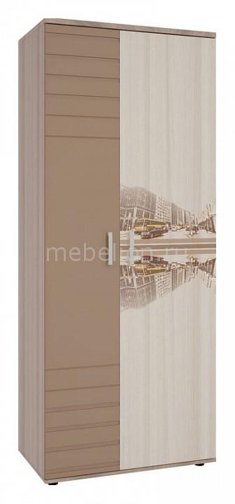 Шкаф платяной Mebelson Манхэттен MDM-001 надстройка mebelson манхэттен mdm 011