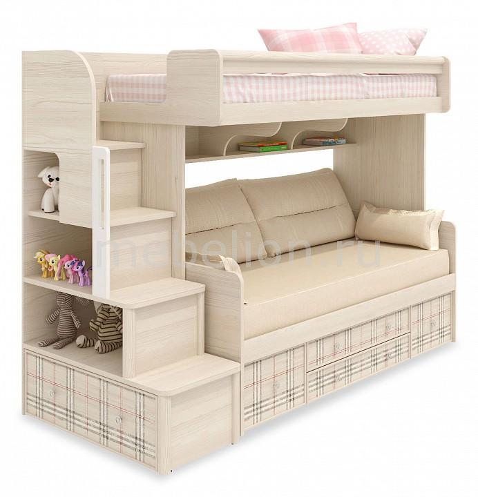 Кровать двухъярусная Сканд-Мебель Кембридж