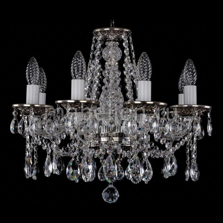 Подвесная люстра Bohemia Ivele Crystal 1613/8/165/NB 1613