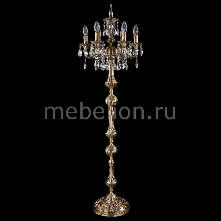 Торшер Bohemia Ivele Crystal 7000/6/125-134/A/FP 7000