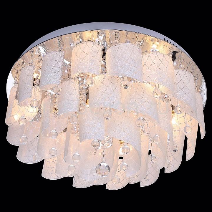 Купить Накладной светильник 80117/9 хром/белый, Eurosvet, Китай