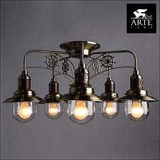 Потолочная люстра Arte Lamp A4524PL-5AB Sailor