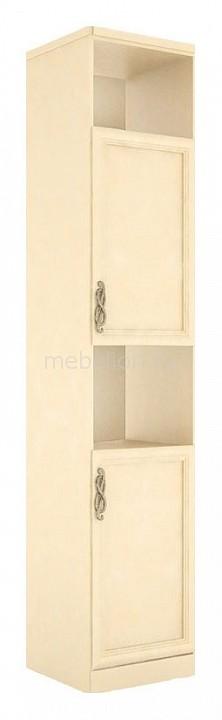 Шкаф комбинированный Любимый Дом Александрия 618.020 Кожа Ленто/Рустика