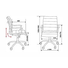 Кресло компьютерное CH-994AXSN слоновая кость