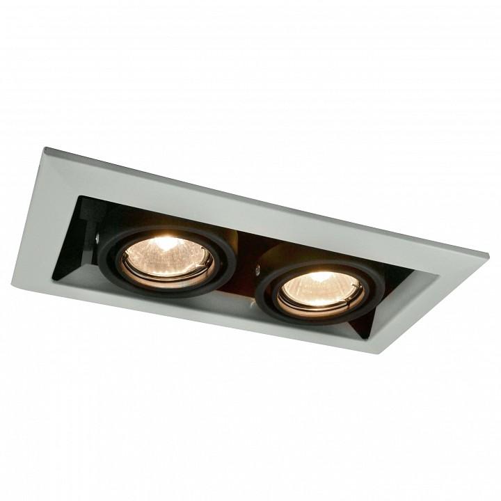 Встраиваемый светильник Arte Lamp A5941PL-2WH Technika