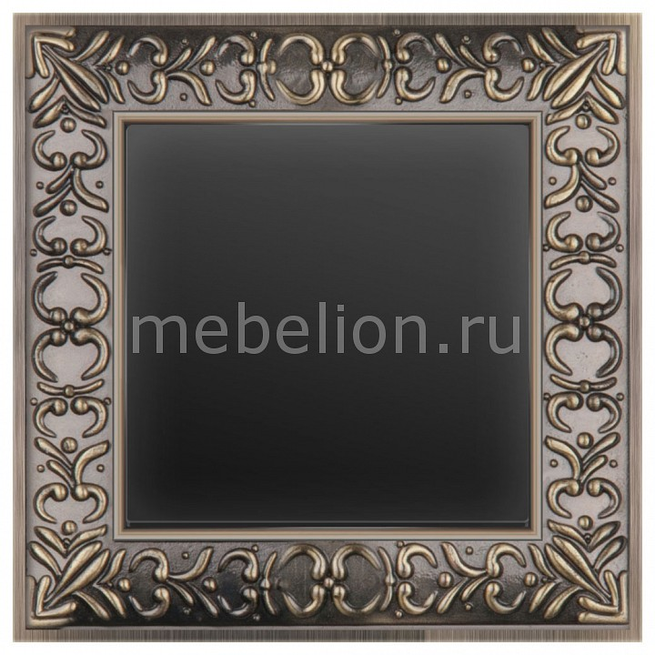 Выключатель одноклавишный Werkel Antik (Черный матовый) WL08-SW-1G-LED+WL08-SW-1G  werkel выключатель одноклавишный черный матовый wl08 sw 1g 4690389054136