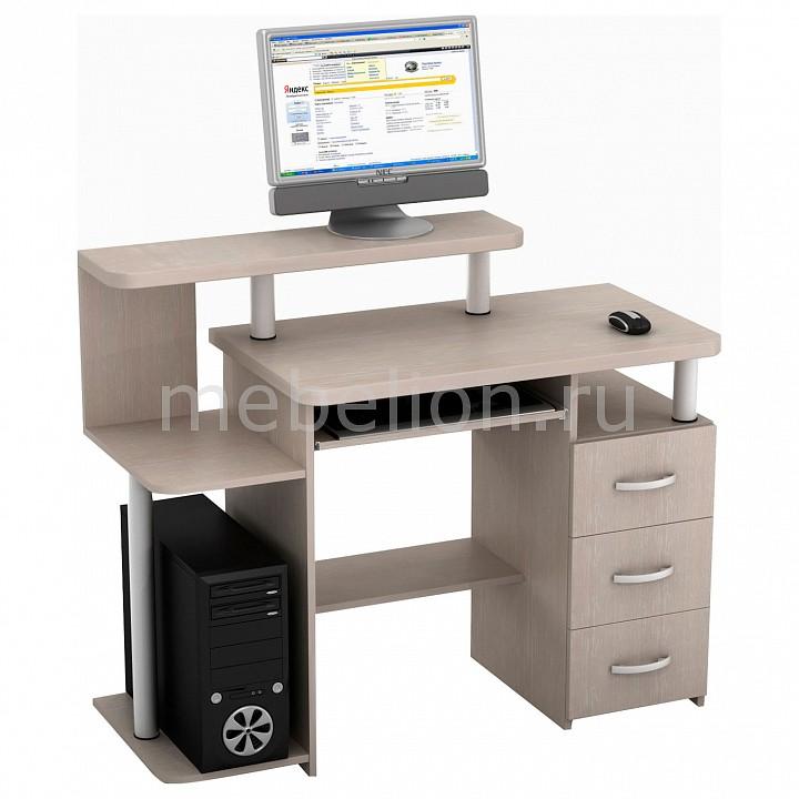 Купить Столы компьютерные Чайка КС-15Т дуб беленый  Стол компьютерный ТД Ная