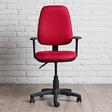 Кресло компьютерное Chairman 661 бордовый/черный