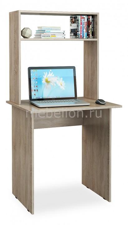 Стол компьютерный МФ Мастер Милан-2 с надставкой