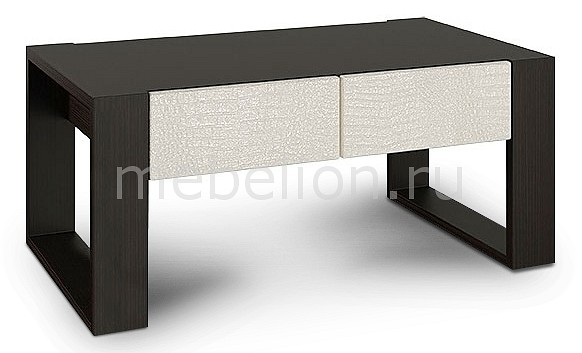 Стол журнальный Компасс-мебель Александрия премиум АМ-4 шкаф витрина компасс мебель александрия премиум ам 6