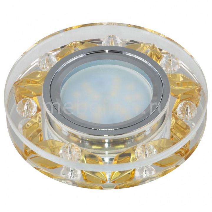 Встраиваемый светильник Uniel Peonia 09988 цена 2017